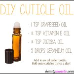 How to Make Homemade Cuticle Oil