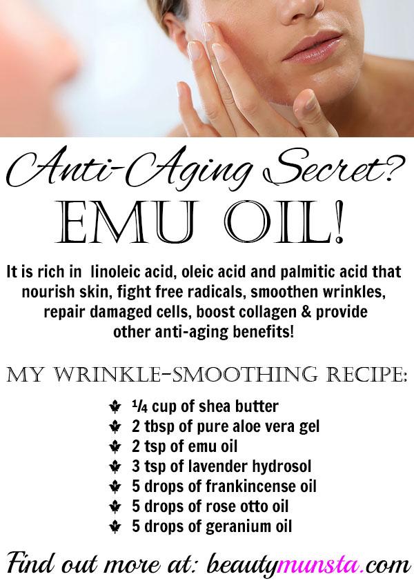 emu oil for wrinkles