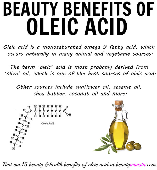 beauty benefits of oleic acid