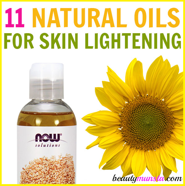 11 Carrier Oils For Skin Lightening Skin Brightening