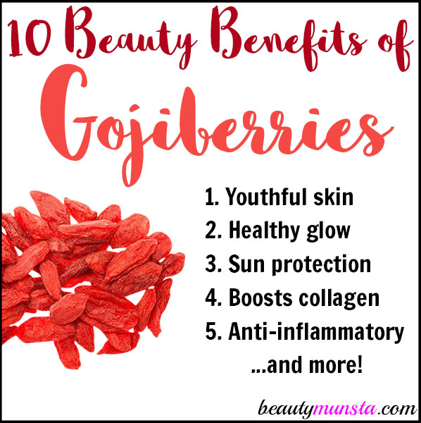 Discover 10 amazing beauty benefits of goji berries for skin & hair!