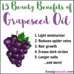 15 Beauty Benefits of Grapeseed Oil for Skin, Hair & More