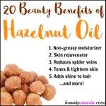 Discover 20 Beauty Benefits of Hazelnut Oil
