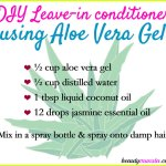 DIY Aloe Vera Leave-In Conditioner
