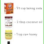 DIY Baking Soda Face Wash