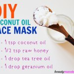 DIY Coconut Oil Face Mask for Glowing Skin