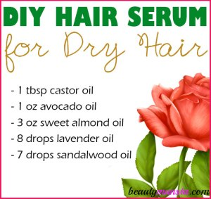 DIY Hair Serum for Dry Hair | Moisturize & Nourish