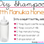 DIY Manuka Honey Shampoo