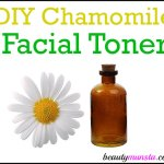 DIY Chamomile Face Toner