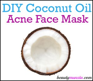 DIY Coconut Oil Face Mask for Acne Prone Skin