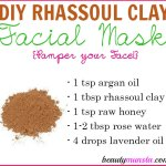 DIY Rhassoul Clay Face Mask for Soft, Smooth Skin