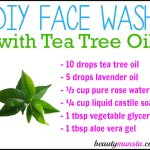 DIY Face Wash with Tea Tree Oil for Acne, Oily Skin & More