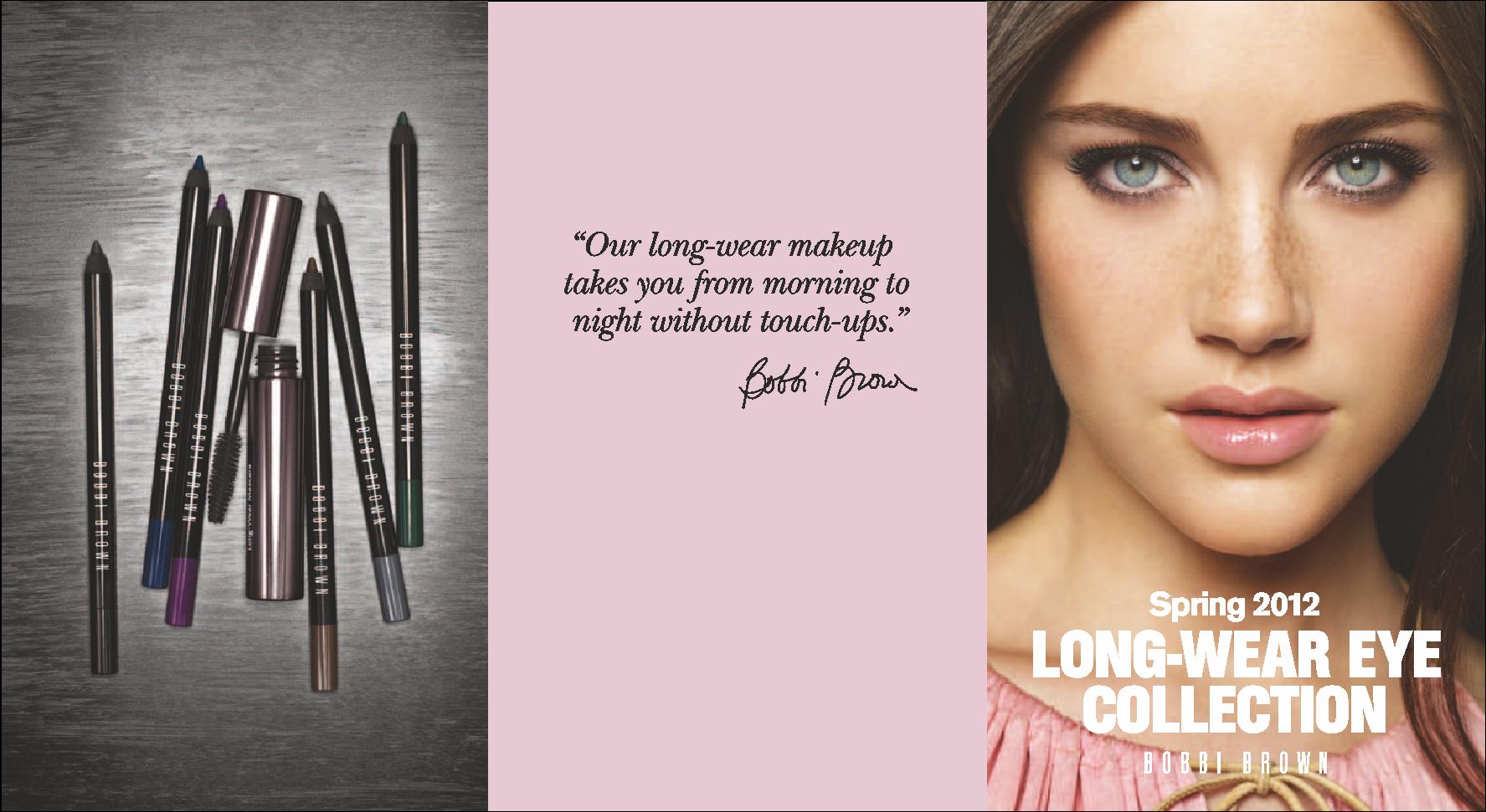 Bobbi Brown Long-Wear Eye Collection Spring 2012