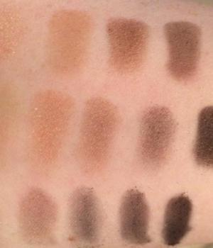 Narsissist palette swatches