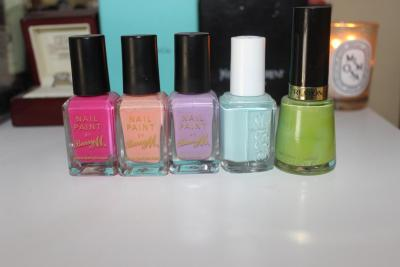 My Spring Nail Polish Picks