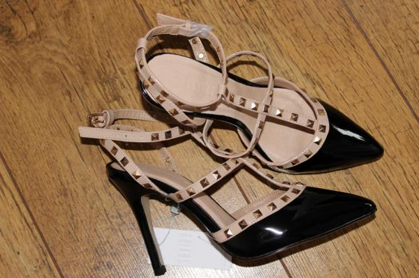 Dunnes Stores Studded Court Heel