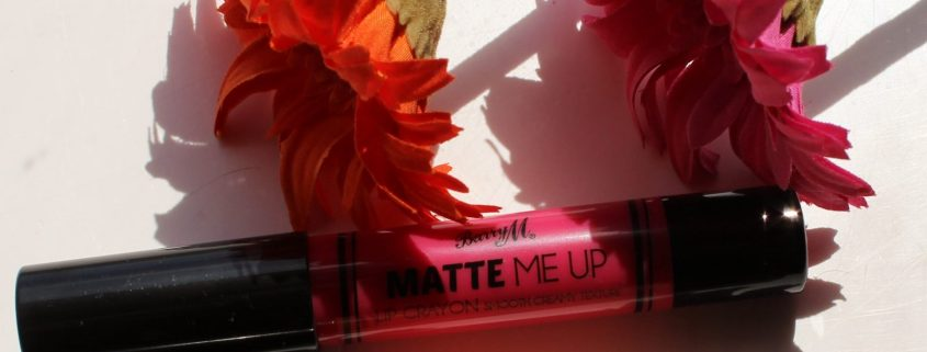 Barry M Matte Me Up Lip Crayons