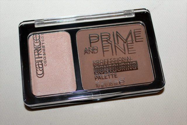 catrice prime and fine contour palette