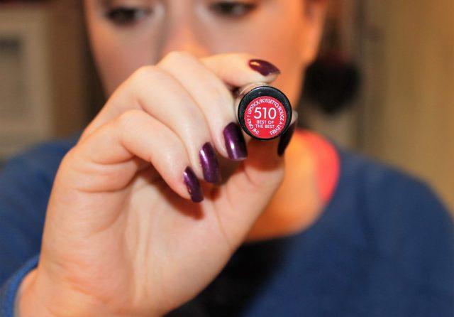 rimmel 530 red lipstick