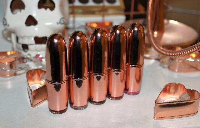 Makeup Revolution Rose Gold Lipstick