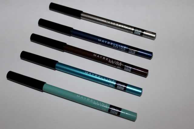 Maybelline Color Show Crayon Kohl Liners