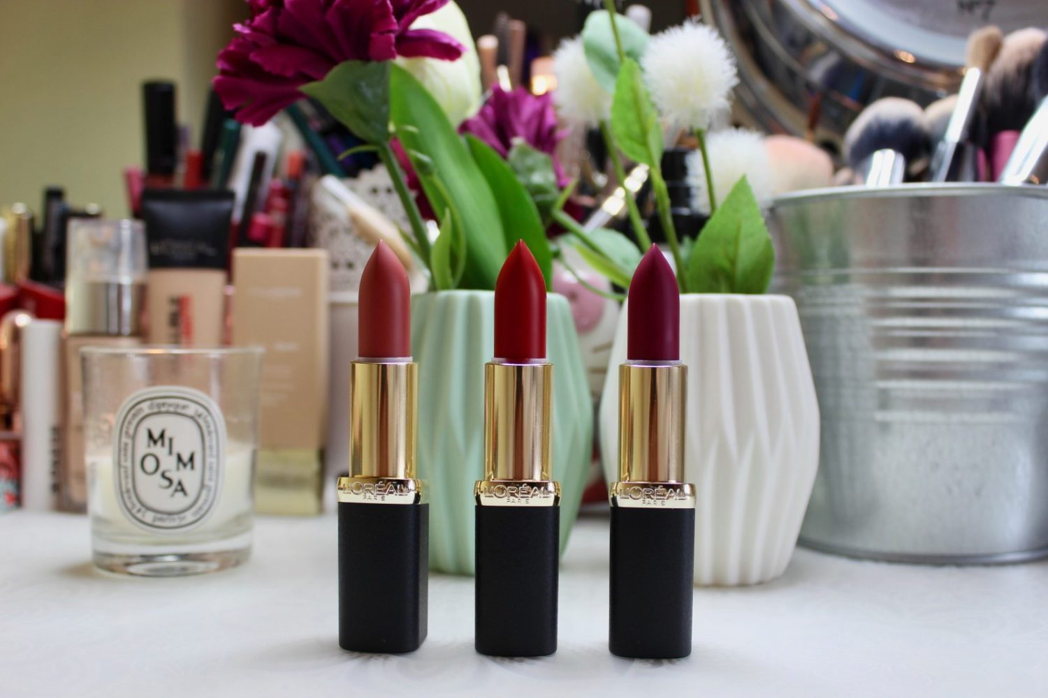2ebcfed9dce L'Oréal Color Riche Matte Addiction Lipstick - Irish Beauty Blog ...