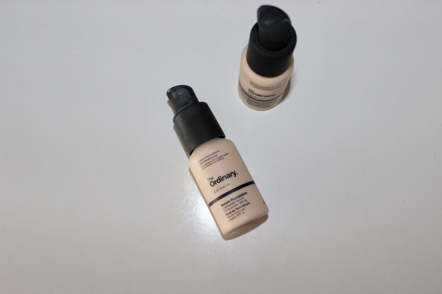 the ordinary colours serum foundation