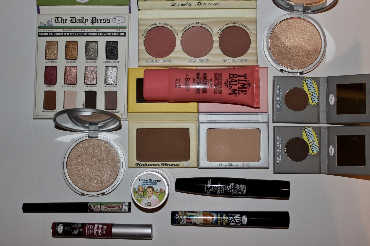 theBalm Cosmetics Makeup Look
