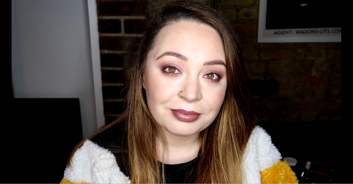 Mauve Eye Makeup Look Huda Beauty