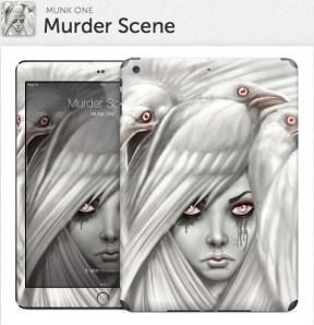 Murder Scene Gelaskin for iPad Air