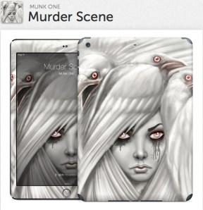Murder Scene Gelaskin for iPad Air
