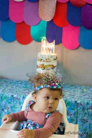 Rainbow Fish Pary Birthday Cake