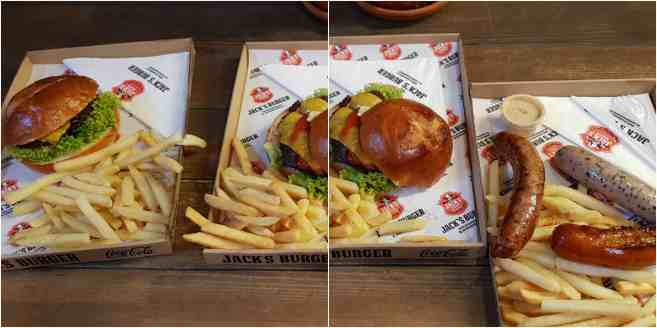 Budapest Jack's burger