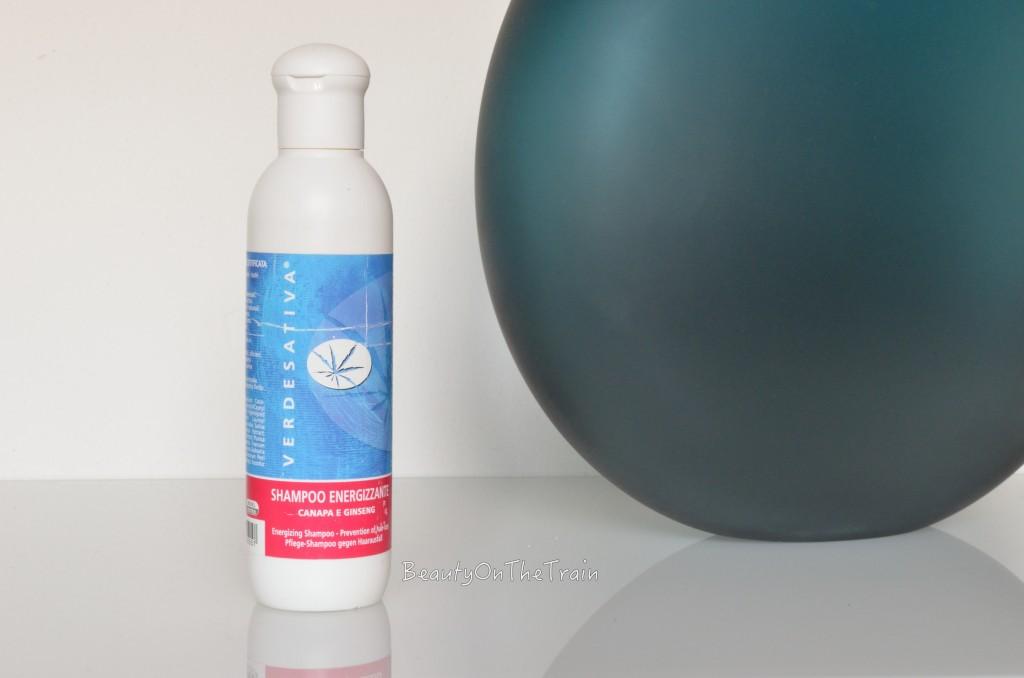 shampoo energizzante canapa e ginseng verdesativa