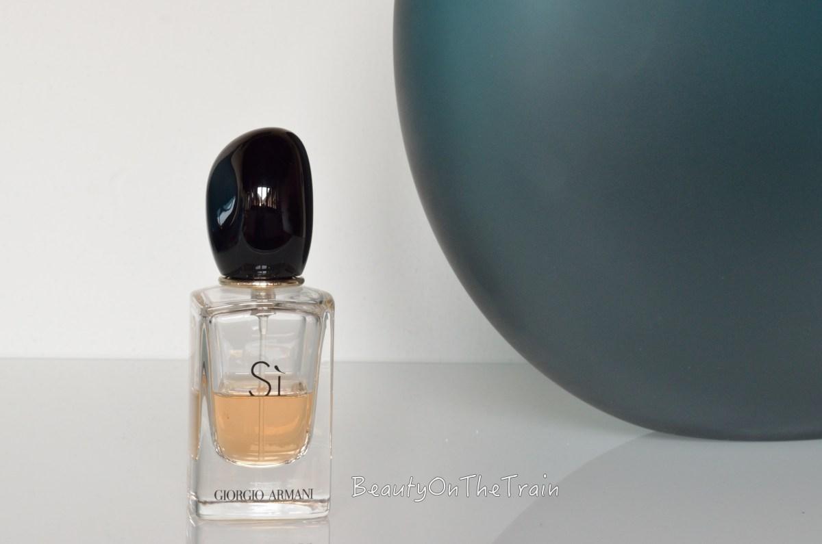 Eau de Parfum Sì di Giorgio Armani: il mio profumo preferito