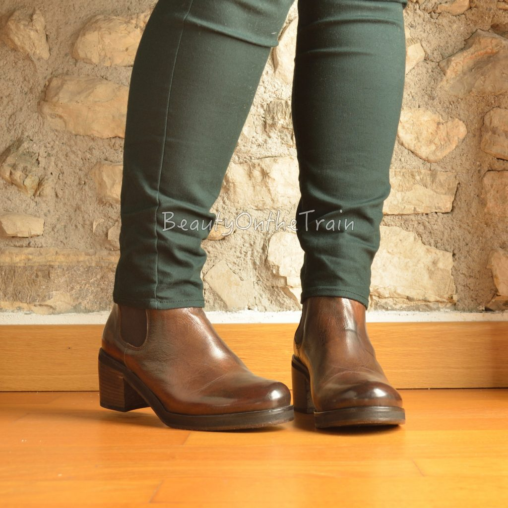 stivaletti walter calzature indossati