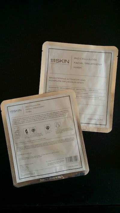 111SKIN Bio Cellulose Facial Treatment Mask Review