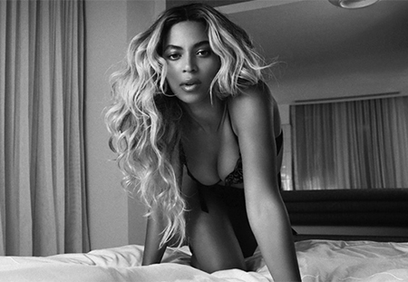 Beyonce Sexy Bed