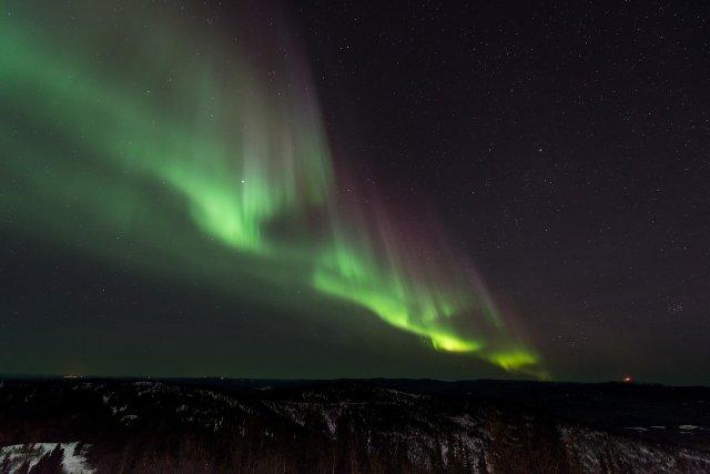 Islandia - zorza