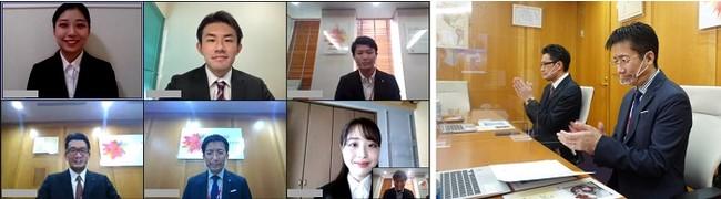 新日本製薬 株式会社 2022年度 オンライン内定式を開催いたしました
