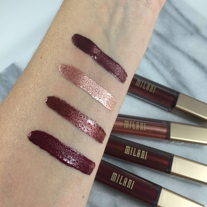 Milani Metallic Lipsticks