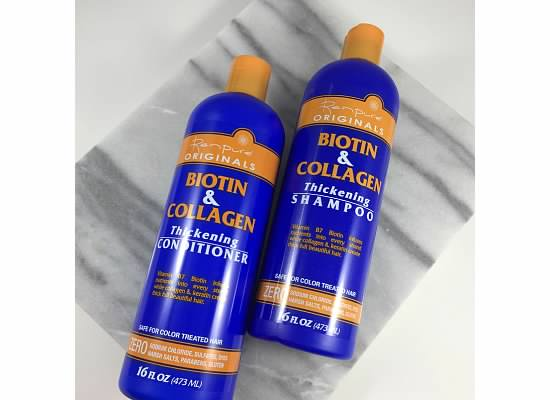 Renpure Biotin & Collagen Collection: Review and Product Info