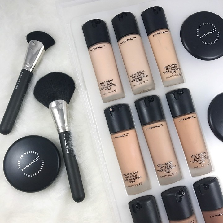 MAC Next To Nothing Foundation: Instagram Filter For Your Face??!!??