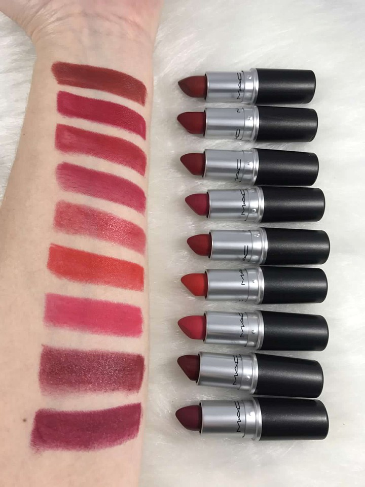 Mac All The Right Angles Makeup Collection For Spring 2016: Must Have MAC Red Lipstick: What Is Your Perfect Red