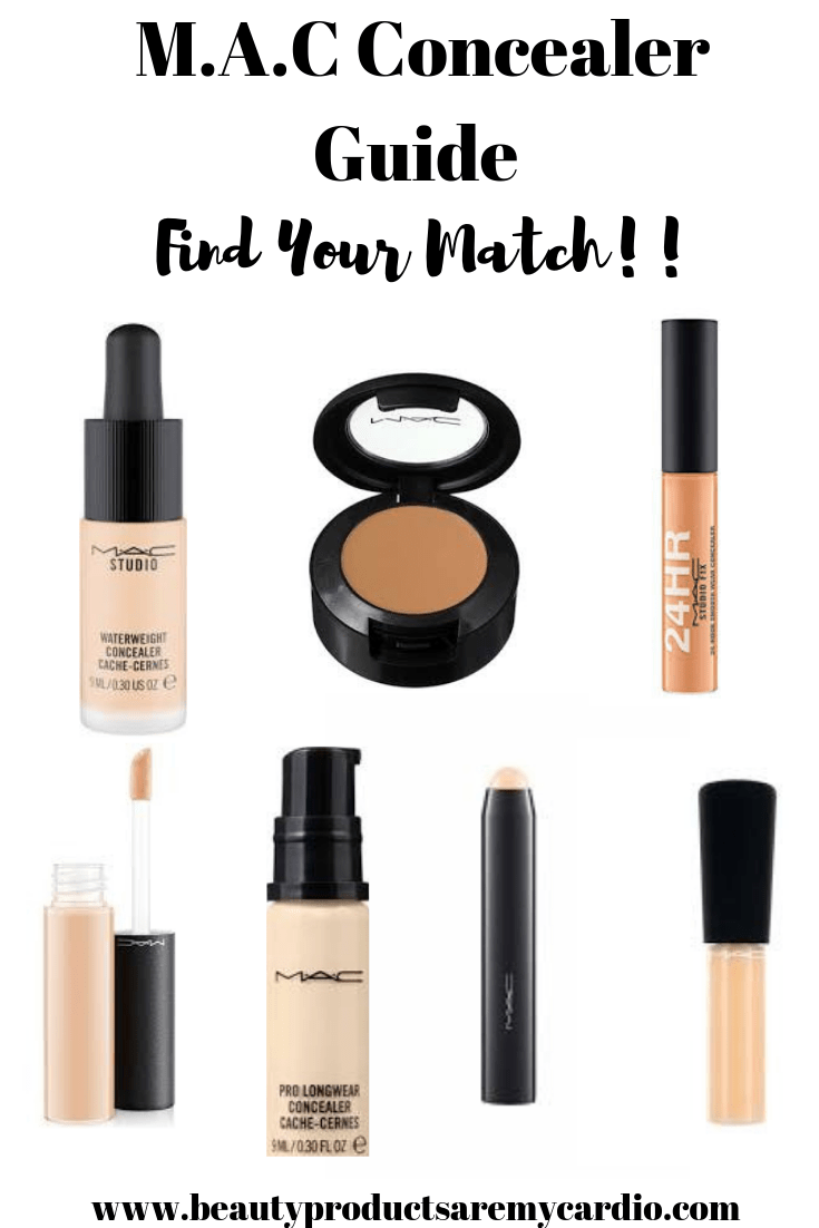 MAC Concealer Guide: Find your perfect match!