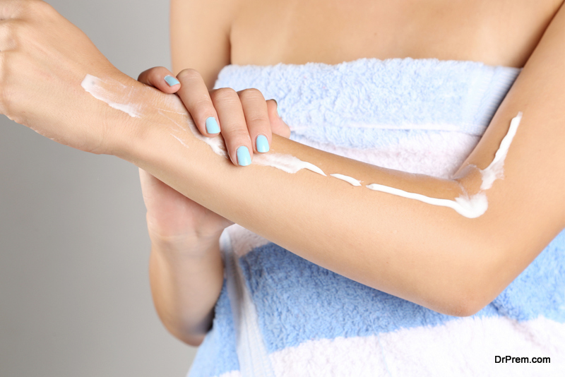 selecting and making your own body lotion