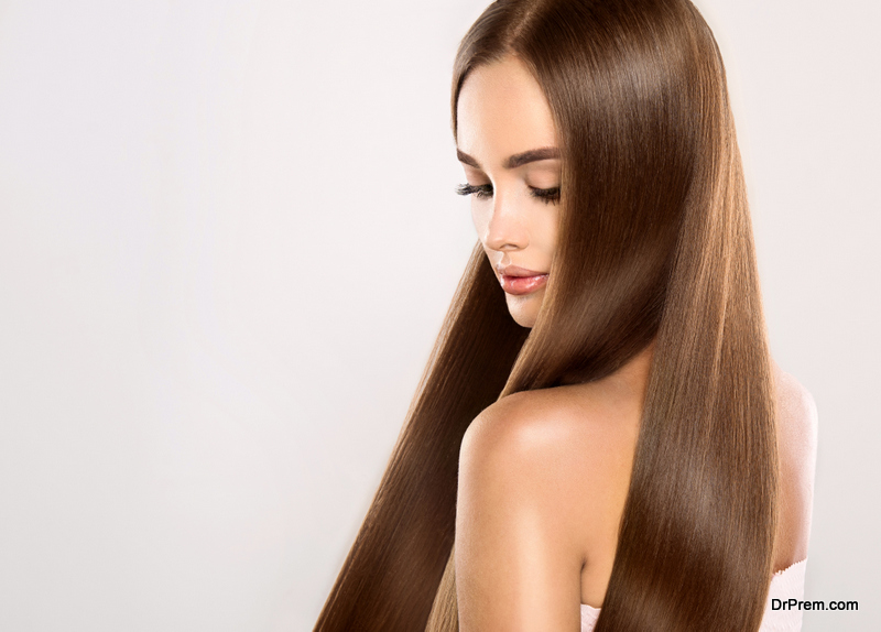 Styling hair
