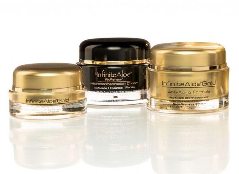 Gold anti aging moisturizer cream
