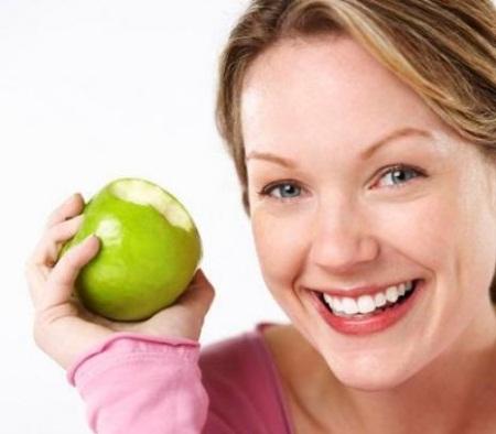 Apples for skin