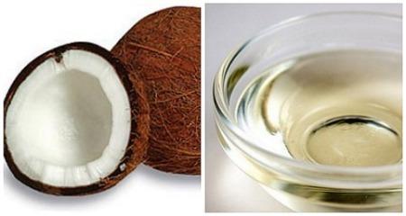 Avocado and coconut hair oil